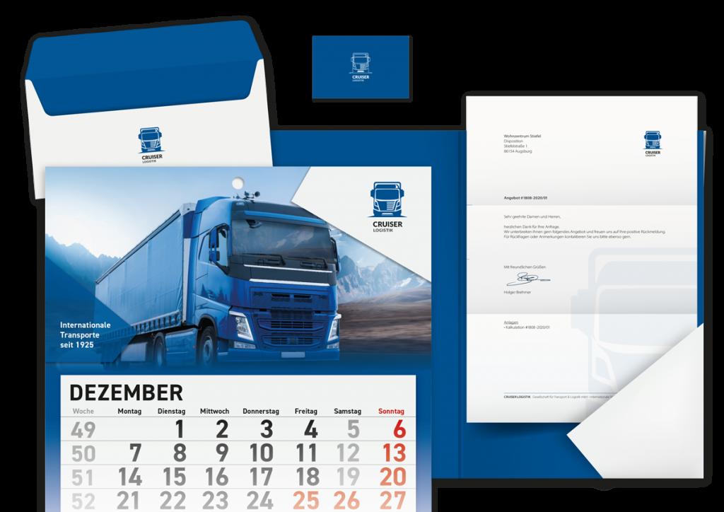 Kalender, Kuverts, Mappen